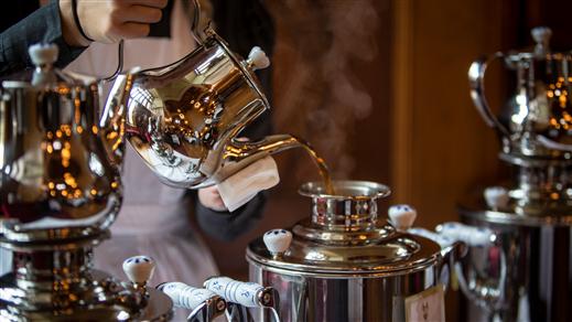 Bild för Afternoon tea 16:00, 2020-11-08, Tjolöholms Slott
