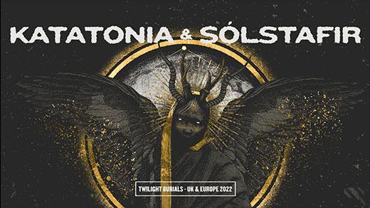 Bild för Katatonia & Solstafir, 2022-02-26, Stora Fållan