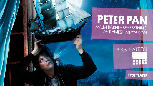 Bild för Peter Pan, 2019-11-09, Teater Bråddgatan 34, 1:a kammaren