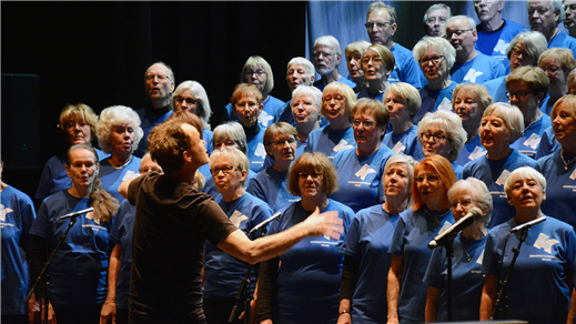 Bild för Generationskören och Sång för livet, 2018-04-24, Hedlundakyrkan