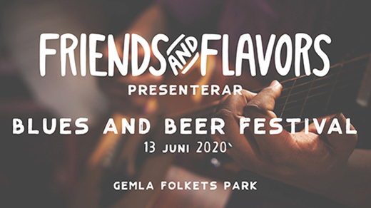 Bild för Blues And Beer Festival 2020, 2021-06-19, Gemla Folkets Park