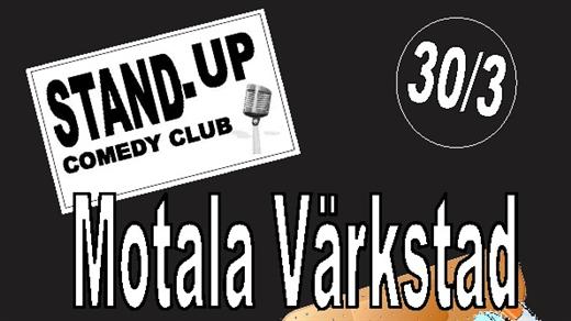 Bild för Motala Värkstad - Stand Up Comedy Club, 2017-03-30, Café Bar  Kök Sjöbris