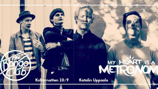 Bild för My Heart Is A Metronome | The Bongo Club, 2016-09-10, Katalin