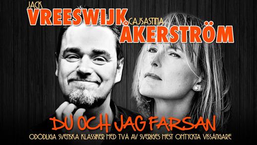 Bild för ÅKERSTRÖM & VREESWIJK -Du och Jag Farsan, 2016-10-29, Konserthuset