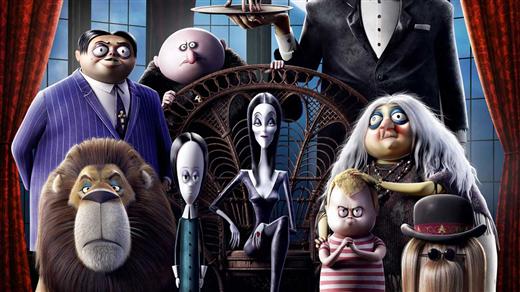 Bild för Bio: Familjen Addams (Sv. tal), 2019-10-31, Kulturhuset Finspång, Stora Salongen
