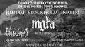 Mgla, Valkyrja, Acrimonious i Stockholm