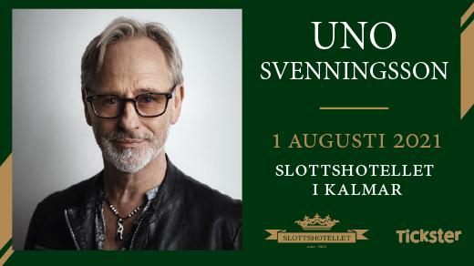 Bild för Uno Svenningsson - Dinnershow, 2021-08-01, Slottshotellet Kalmar