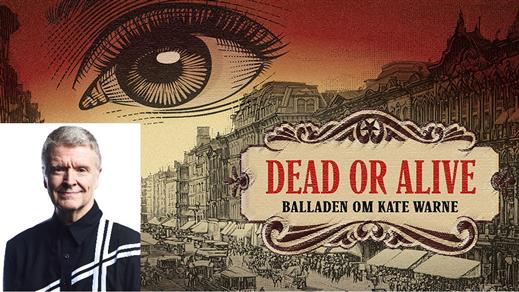 Bild för Föreläsning. Dead or alive, Balladen om Kate Warne, 2021-03-01, Teater Borgen, Lilla salongen