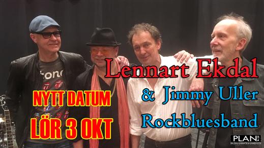 Bild för LENNART EKDAL & JIMMY ULLER BAND, 2020-10-03, Plan B