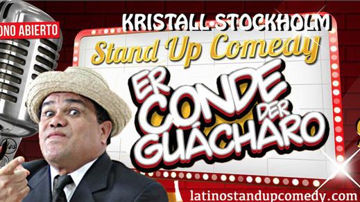 Bild för Er Conde der Guacharo - Kristall Stockholm, 2018-06-09, Kristall Stockholm
