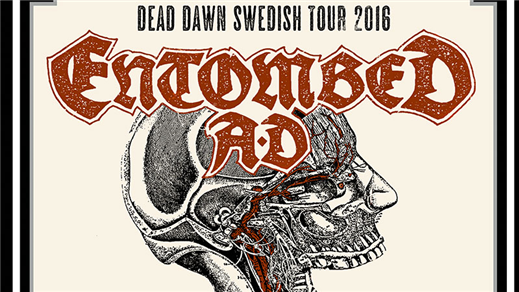 Bild för ENTOMBED AD på the Crypt / Linköping, 2016-09-30, Pitchers/The Crypt