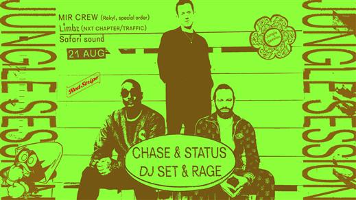 Bild för Jungle Session: Chase & Status + Rage, 2019-08-21, Trädgården