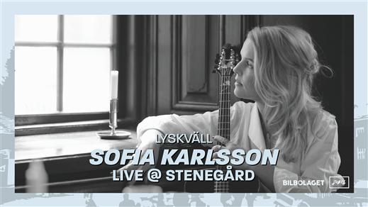 Bild för Sofia Karlsson I Lyskväll Live @ Stenegård, 2021-08-28, Stenegård, Järvsö