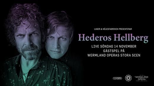 Bild för Hederos Hellberg, 2021-11-14, Wermland Opera Stora Scen