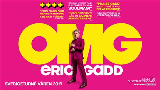 Bild för Eric Gadd - OMG turné, 2019-03-15, Conventum Kongress
