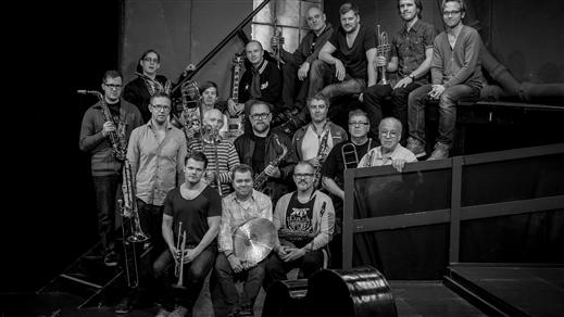 """Bild för Stockholm Jazz Orchestra (SJO)  –  """"Coltrane"""", 2021-09-16, Nefertiti på Valand"""