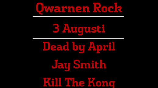 Bild för QwarnenRock - DBA, KTK, Jay Smith & Alicewell, 2018-08-03, Westerqwarn Pub & Restaurang