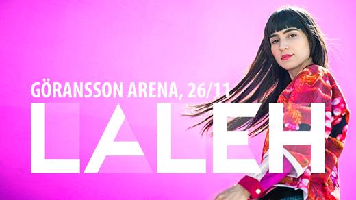 Bild för Laleh Kristallerturnén 2016 Sandviken, 2016-11-26, Göransson Arena / Konsert