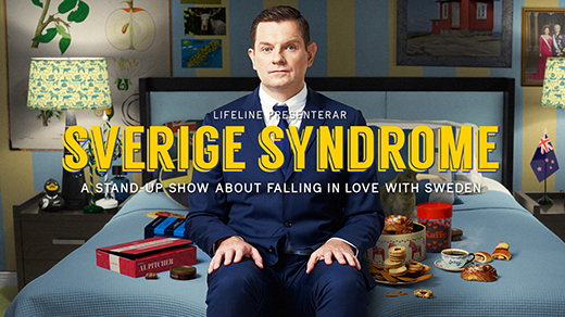 Bild för Al Pitcher - Sverige Syndrome, 2018-02-23, UKK - Stora salen