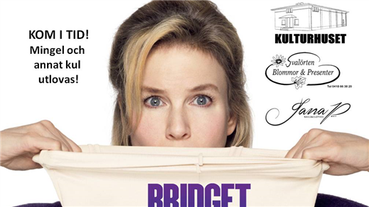Bild för TJEJKVÄLL - Bridget Jones Baby, 2016-09-16, Kulturhuset i Svalöv