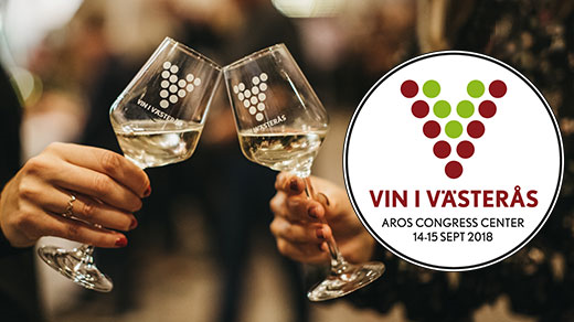 Bild för Vin i Västerås 2018 FREDAG, 2018-09-14, Aros Congress Center