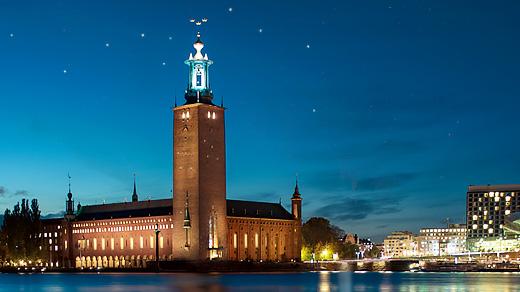 Bild för Himlen hänger stjärnsvart, Kulturskolan Stockholm, 2019-12-13, Stockholms Stadshus, Blå Hallen