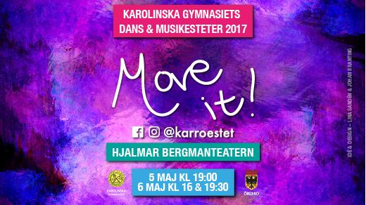 Bild för MOVE IT 5/5 19:00, 2017-05-05, Hjalmar Bergman Teatern