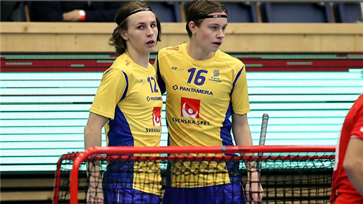 Bild för Finnkampen Innebandy Herrjuniorer, 2019-09-06, Lerums Arena