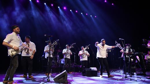 Bild för Marko Marković Brass Band, 2018-04-19, Kägelbanan Södra Teatern