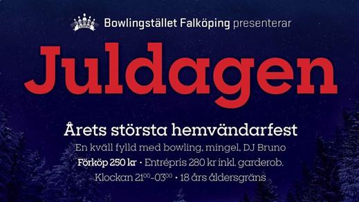 Bild för Juldagen 2019, 2019-12-25, Bowlingstället Falköping