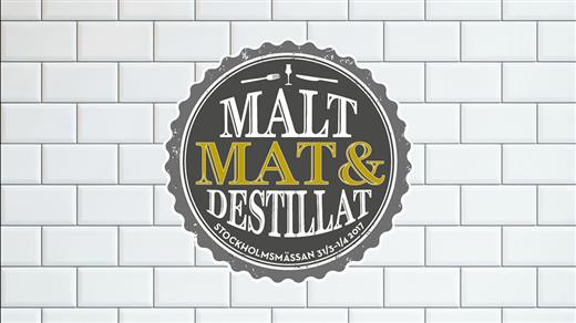 Bild för Stockholm Malt, Mat & Destillat LÖRDAG, 2018-03-17, Stockholmsmässan