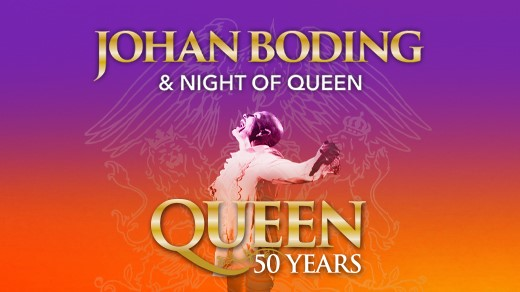 Bild för JOHAN BODING & NIGHT OF QUEEN - QUEEN 50 YEARS, 2021-10-16, Konserthuset