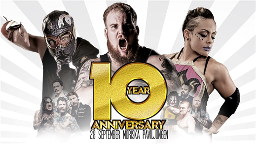 Bild för 10 year Anniversary/Wrestling!, 2019-09-28, Moriska Paviljongen