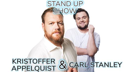 Bild för Stand-up med Kristoffer Appelquist & Carl Stanley, 2018-09-27, Halmstad Live Konserthallen