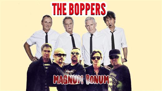 Bild för The Boppers & Magnum Bonum, 2017-08-26, Kulturhuset