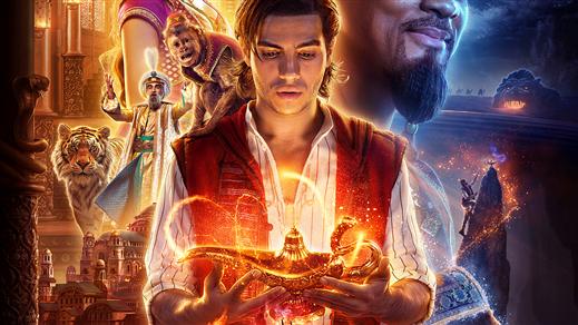 Bild för Aladdin (live action) (Eng. tal) 15:00, 2019-06-26, Estrad