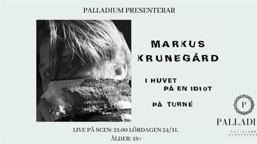 Bild för Markus Krunegård *Palladium* 181124, 2018-11-24, Palladium Nattklubb & Loungebar