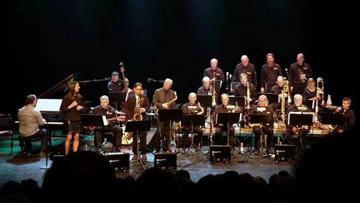 "Bild för High Coast Jazz Orch. ""Tribute To Charlie Parker"", 2020-02-26, Bryggeriet, Kattastrand"