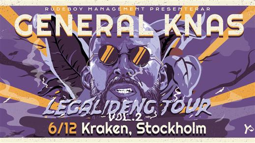 Bild för General Knas - Legalideng Tour vol 2, 2019-12-06, Kraken