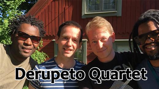 Bild för Derupeto Quartet, 2018-10-03, Musikföreningen Crescendo