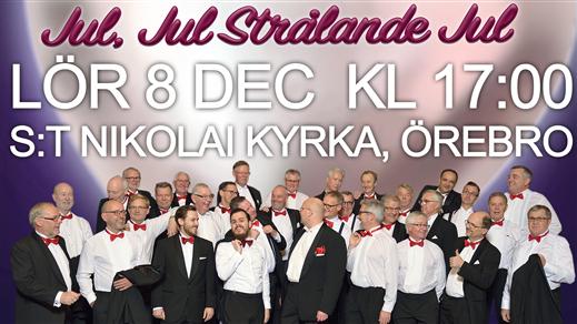Bild för Julkonsert 2018, 2018-12-08, S:t Nikolai kyrka