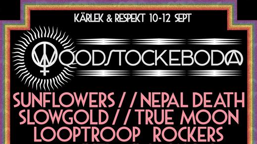 Bild för Woodstockeboda: Kärlek & Respekt 2021, 2021-09-10, Woodstockeboda (Stockeboda Gård)