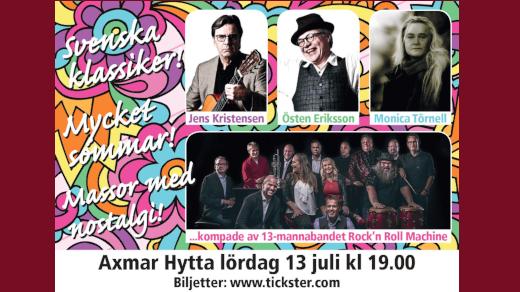 Bild för Östen Eriksson - Jens Kristensen - Monica Törnell, 2019-07-13, Axmar Hytta, Axmar