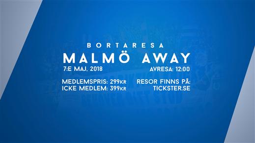 Bild för Malmö Away, 2018-05-07, Clarion Hotel Post