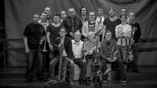 Bild för Stockholm Jazz Orchestra, 2019-09-18, Bryggeriet, Kattastrand