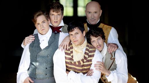 Bild för Stolthet och Fördom eller The Story of Mr Darcy..., 2020-02-14, Teater Halland Stora Scen