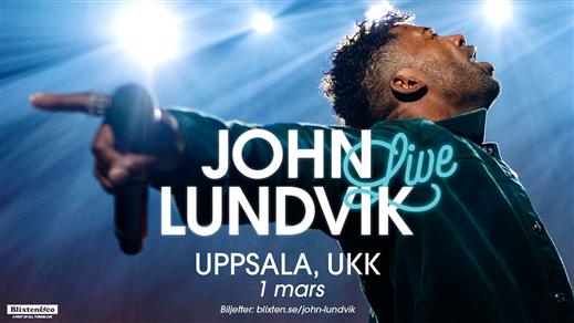 Bild för John Lundvik, 2020-03-01, UKK - Stora salen