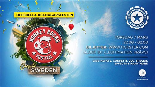Bild för Officiella 100-dagarsfesten 2019, 2019-03-07, Nöjesfabriken