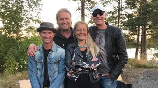 Bild för Lana Brunell & Jimmy Ullers Rockbluesband, 2020-10-24, Palatset