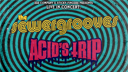 Bild för The Sewergrooves + Acid's Trip, 2019-10-26, Sticky Fingers